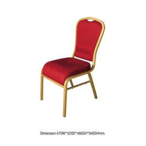 Banket stolica sa oborenim sedištem