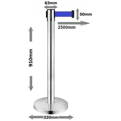 Stubić – Barijera sa Plavom trakom DX-RB632
